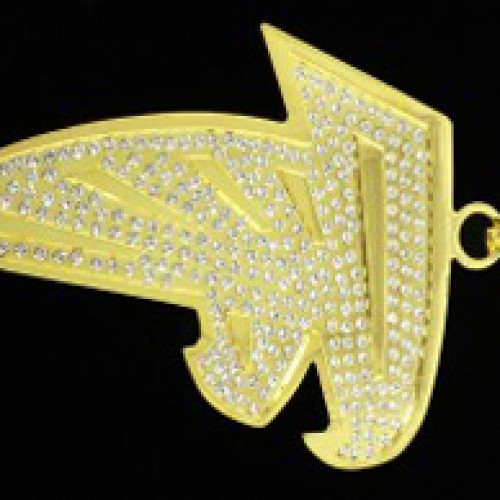 Custom Charms  Engraved Gold   Custom Made Charms at Wholesale a3da356c5fb1