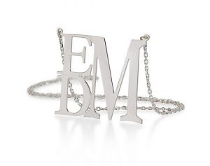 stacked initials
