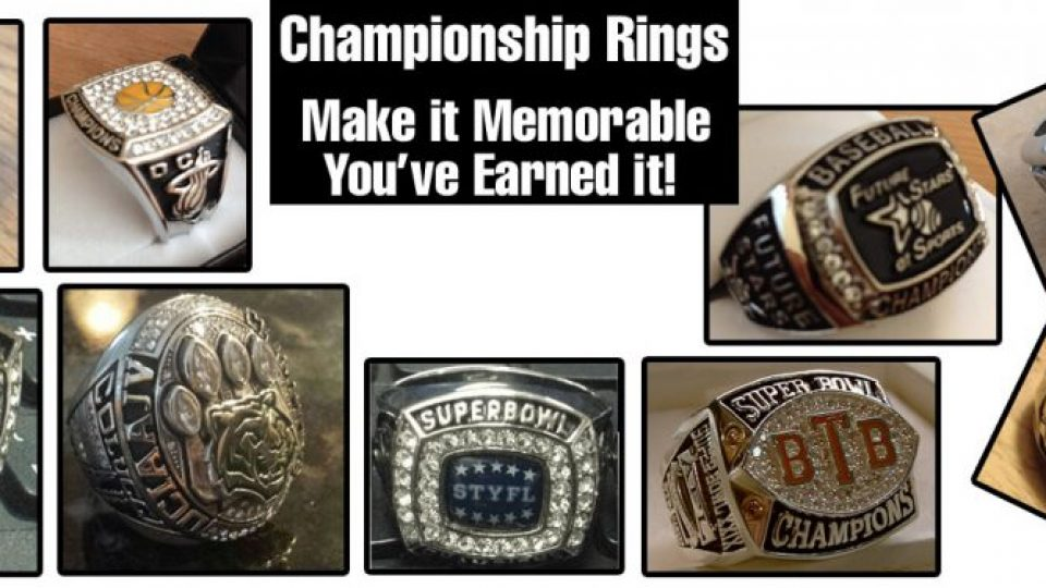 Championship Rings – Make Your Championship Memorable