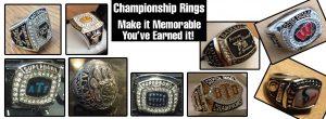Championship Rings - Make Your Championship Memorable