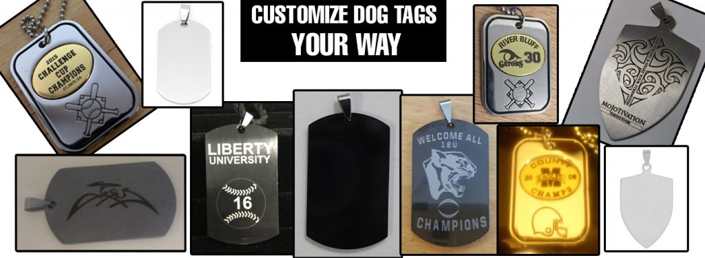 Customize Your Dog Tags