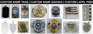 Custom Name Tags, Custom Name Badges and Custom Lapel Pins