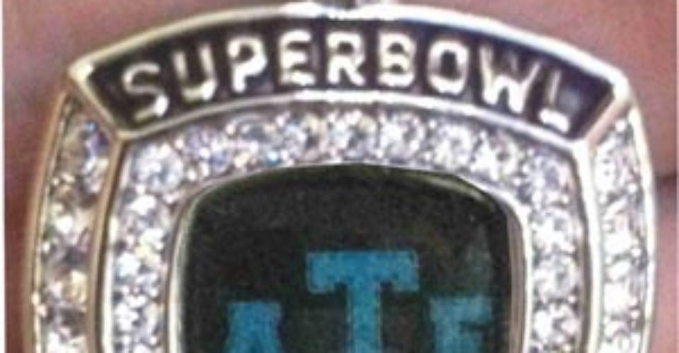 Youth Super Bowl Rings