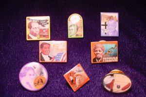 African American Custom Lapel Pins
