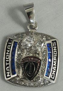 Custom National Championship Pendant