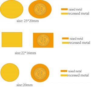 Express Custom Lapel Pins Shapes