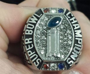 Extreme Series Championship Rings - Badgers Top 2015