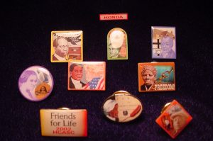 Honda Collection of Lapel Pins