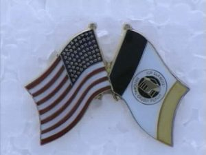 ICR_d Flag Lapel Pin