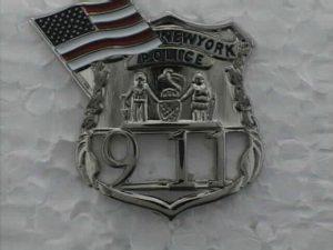 Silver 9-11 Lapel Pin