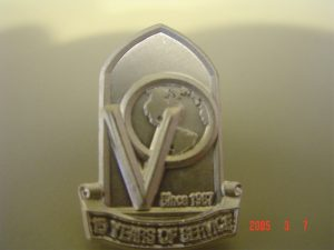 Victory Outreach Lapel Pin