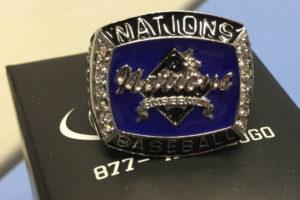 Nations Baseball Championship Rings