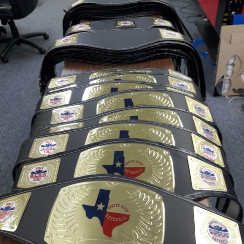 Custom Youth Championship Belts Gallery