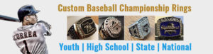 Custom Baseball Championship Rings USA