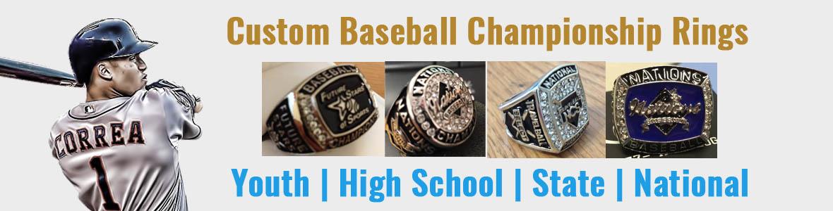 Custom Baseball Championship Rings