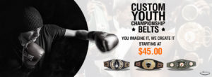 Custom Youth Championship Belts