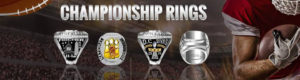 Custom Youth Fantasy Football Championship Rings USA