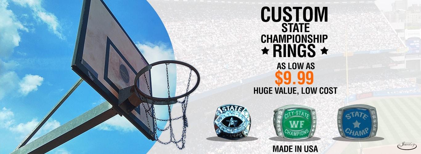 Custom State Championship Rings