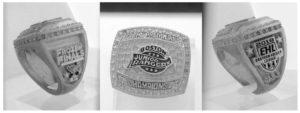 2018 Boston Junior Rangers Hockey Ring Mold