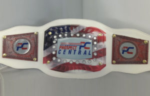 Customized Championship Belt - Prospect Central
