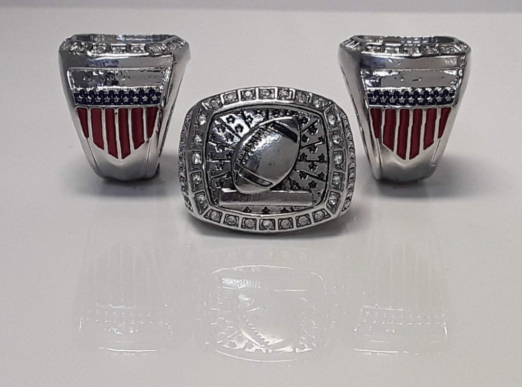 All American Football Ring