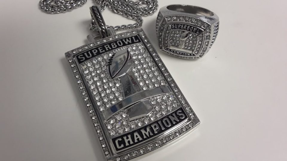 Superbowl Pendant