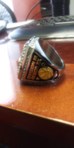 Extreme Championship Ring NJCAA side view