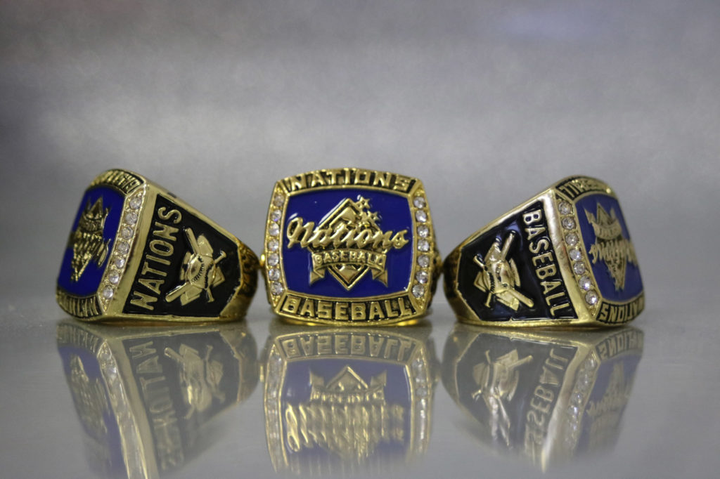 Nations baseball blue-gold