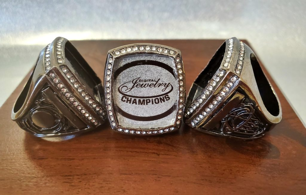 digital jewelry warrior ring